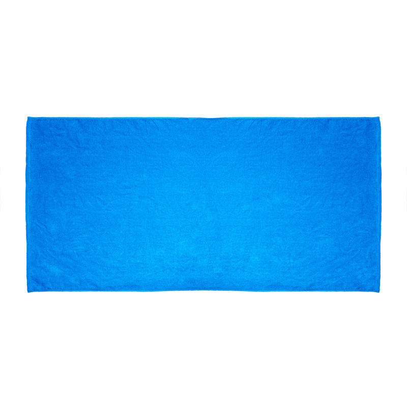 Promotional Velour Terry Beach Towel (Color Imprinted)