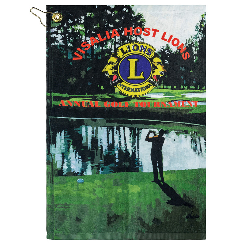 Subli-Plush Velour Hand Golf Towel