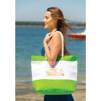 Nautical Beach Tote Bag (Imprinted)