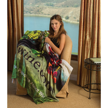 Oversize Tahoe Microfleece Throw (Edge to Edge Printed)