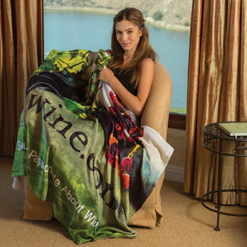 Tahoe Microfleece Throw (Edge to Edge Printed)
