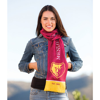 Sublimated Microfiber Scarf