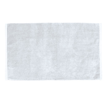 Medium Weight Velour Hand & Sport Towel (White Embroidered)