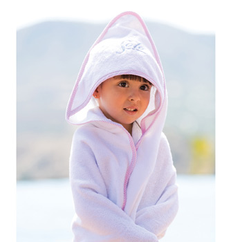 Hooded Baby Towel (Embroidered)
