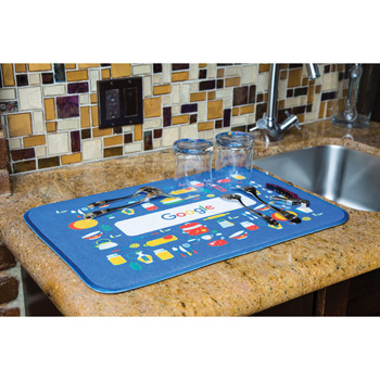 Sublimated Dish Mat (Edge to Edge Printed)